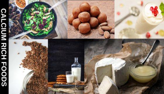 calcium rich foods