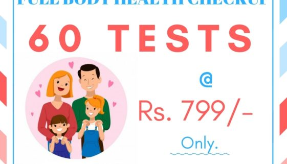 Dr Lal Path Lab - Full Body Health Checkup